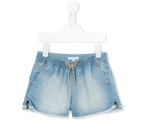 Jeans-Shorts mit Kordelzug - kids - Baumwolle