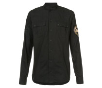 embroidered patch shirt