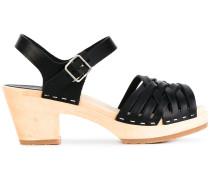 Sandalen mit geflochtenen Riemen - women