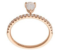 18kt 'Eterny' Rotgoldring