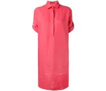 - Hemdkleid mit umgeschlagenen Ärmeln - women