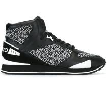 'Flying Kenzo' hi-top sneakers