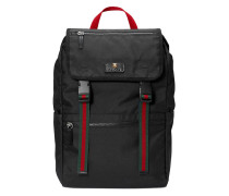 Technical canvas backpack - women