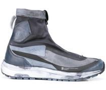High-Top-Sneakers im Used-Look