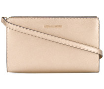 zipped clutch - women - Leder - Einheitsgröße