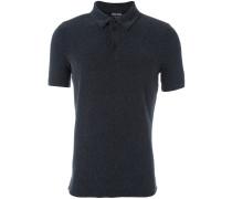 Diagonal gestreiftes Poloshirt