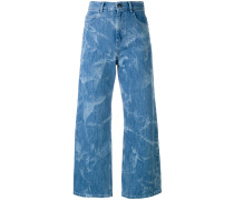 Ausgestelltes Cropped-Jeans - women
