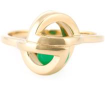 'Planetaria' Ring aus 18kt Gelbgold