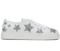 Sneakers mit Glitter-Sternen
