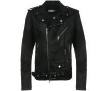 Bikerjacke mit Distressed-Optik