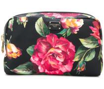 rose print make-up bag