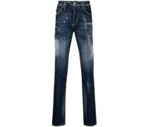 Iconic Plein Straight-Leg-Jeans