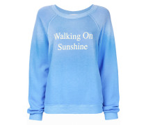 "Pullover mit ""Walking on Sunshine""Print"