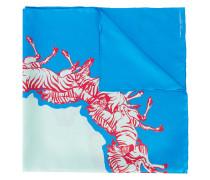 zebra print scarf