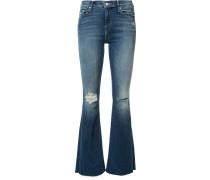 Bootcut-Jeans im Used-Look - women