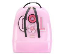 appliquéd backpack