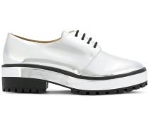 Oxford-Schuhe mit Plateausohle