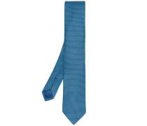 - embroidered tie - men - Seide - Einheitsgröße