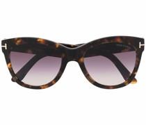 Wallace Cat-Eye-Sonnenbrille