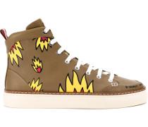 x Swizz Beatz High-Top-Sneakers