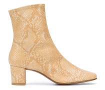 Sofia snake effect ankle boots