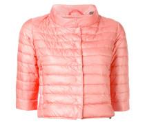 - cropped puffer jacket - women