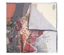 - Schal mit Landschaft-Print - women