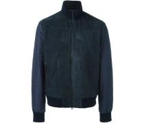 Wattierte Jacke mit Einsatz vorne