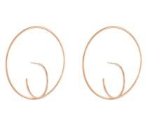 Große 'Saturn' Ohrringe