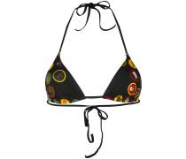 patch-work bikini top