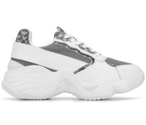 Sneakers mit Monogramm-Print