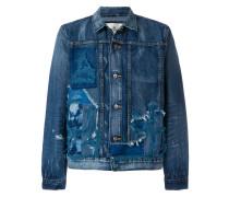 destroyed denim jacket
