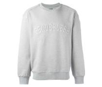 Sweatshirt mit eingeprägtem Schriftzug