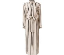 twin stripe shirt dress