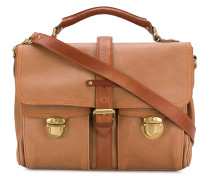 flap pockets laptop bag