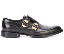 - double buckle Norman derby shoes - men