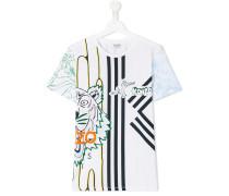 T-Shirt mit Print - kids - Baumwolle - 14 yrs