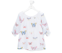 Bluse mit Schmetterlings-Print - kids