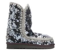 'Eskimo' Stiefel mit Pailletten