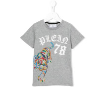 - T-Shirt mit Stickerei - kids - Baumwolle - 10 J.