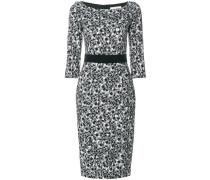 Foxglove pebble print dress