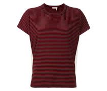 T-Shirt mit seitlichem Einsatz