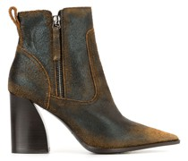 Stiefeletten in Distressed-Optik