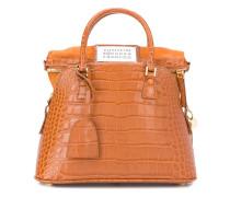 Kleine '5AC' Handtasche mit Kroko-Effekt