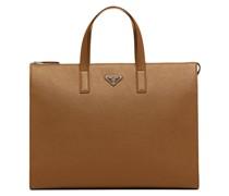 Handtasche mit dreieckigem Logo