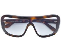 Oversized-Sonnenbrille mit Schildpattoptik