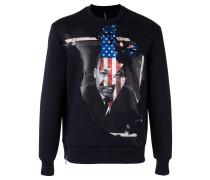 Sweatshirt mit 'Martin Luther King'-Print