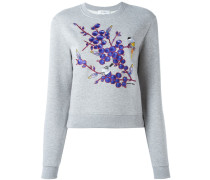 floral patch sweatshirt