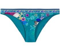 Bikinihöschen mit Blumen-Print