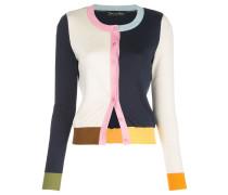 Cardigan in Colour-Block-Optik